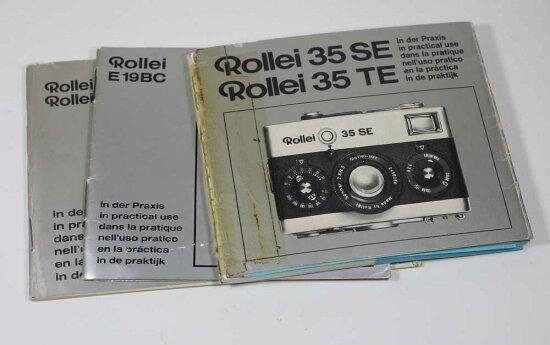 德國製造ROLLEI 35 SE/TE,E19BC,E20/E20C指南Manuals for 35 SE/TE,E19BC,E20/E20C moriyamafarm