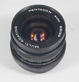 독일제 렌즈펜타콘・오토 2.8/29 멀티 코팅 M42용 PENTACON auto 2.8/29 MC for M42