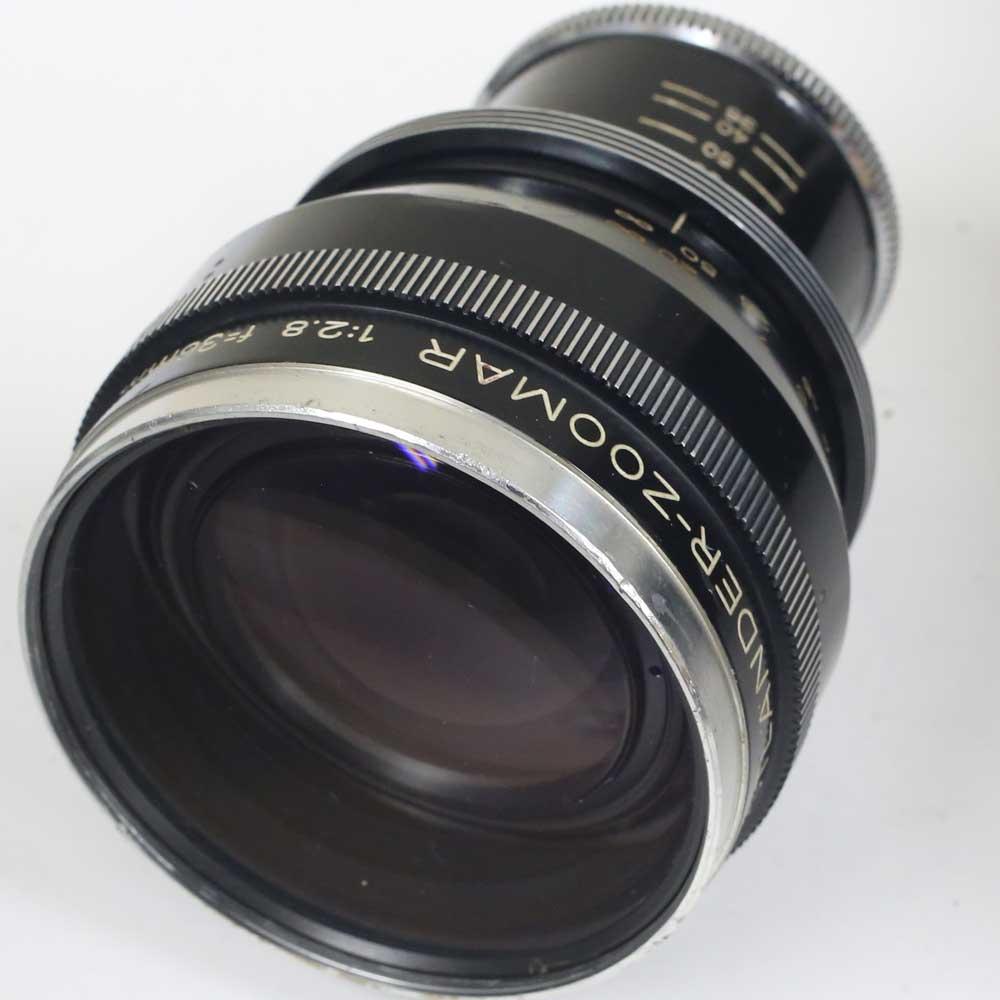 ドイツ製レンズ フォクトレンダー ズーマー 1:2.8 f=36mm....82mmVoigtlander Zoomar 1:2.8 f=36mm....82mm