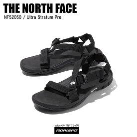 THE NORTH FACE ノースフェイス サンダル ULTRA STRATUM PRO ウルトラストレイタムプロ NF52050 TNFブラック