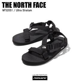 THE NORTH FACE ノースフェイス サンダル ULTRA STRATUM ウルトラストラタム NF52051 TNFブラック