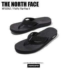 THE NORTH FACE ノースフェイス サンダル FLUFFY FLIP-FLOP 2 フルッフィー フリップフロップ2 NF52052 TNFブラック