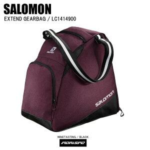 SALOMON サロモン EXTEND GEARBAG エクステンド ギアバッグ LC1414900 ワインテースティングブラック スキー スノボ ゲレンデ 旅行 遠征 保管 収納