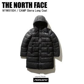 THE NORTH FACE ノースフェイス NYW81934 CAMP SIERRA キャンプシエラロングコート NYW81934 K K ブラック カジュアル ジャケット