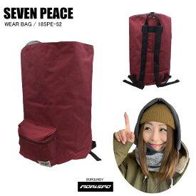 SEVENPEACE セブンピース 18SPE-52 WEAR BAG ウェアバッグ 18SPE-52 バーガンディー バック類 バックパック