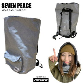 SEVENPEACE セブンピース 18SPE-52 WEAR BAG ウェアバッグ 18SPE-52 ヘザーグレイ   バック類 バックパック