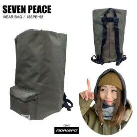 SEVENPEACE セブンピース 18SPE-52 WEAR BAG ウェアバッグ 18SPE-52 オリーブ   バック類 バックパック