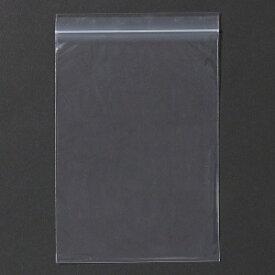 【チャック付きポリ袋】ユニパック(K-8)0.08×280×400mm(100枚入り) 厚手