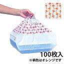 【レジ袋】 SKバッグ カーネーション 50 375×480(mm)(100枚入)