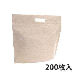 【保冷袋】クラフト紙ラミスル保冷バッグ(不織布タイプ)W350×H295×底マチ60+60(mm) (200枚入り)