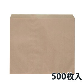 【紙平袋】 フラット クラフト大 290×270(mm) (500枚入)