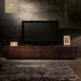 テレビ台 テレビボード TV台 AVボード AV台 収納 リビング収納 ローボード 収納家具 木製 ウォールナット lussy 200 220 和室 和風 インテリア 家具 北欧 モダン