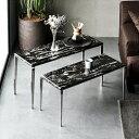 大理石テーブル 送料無料 テーブルセット セパレートテーブル サイドテーブル 組み合わせテーブル 天然大理石 大理石…
