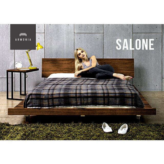 ベッド ダブル キング ローベッド bed ベット ダブルサイズ キングサイズ 天然木 ウォールナット ベッドルーム ナチュラル デザイナーズ シンプル インテリア 家具 北欧 モダン
