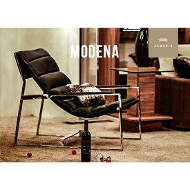 本革 皮 チェアー 1人掛け 本皮 パーソナルチェアー 1P チェア MODENA モダンテイスト モダンリビング 北欧 イス 椅子 モダン 北欧