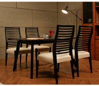 ダイニングチェアLucura2脚セットチェアイス椅子1人掛けチェアーファブリックPUレザー木製モダンテイストモダンリビング北欧テイストインテリア家具北欧モダンアルモニア新生活