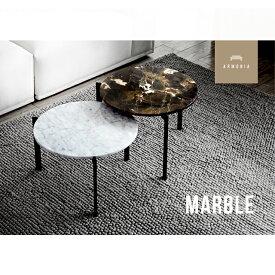 テーブル 送料無料 センターテーブル 大理石テーブル 北欧 Marble セパレート 円型 マーブル 大理石 サイドテーブル コーヒーテーブル インテリア 家具 モダン アルモニア 大理石柄