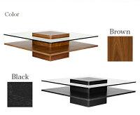 テーブルガラステーブルtable『Karen』ガラスナイトテーブルガラス北欧ナイトテーブルモダンリビングテーブルセンターテーブル木製モダンテイストモダンリビング北欧テイストシンプルデザイナーズ
