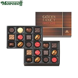 Morozoff黄金的粉絲海巧克力24個裝(2段詰問)