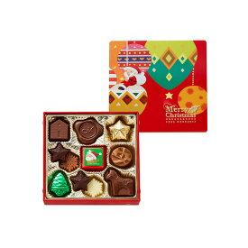 モロゾフ クリスマスプレーンチョコレート 11個入