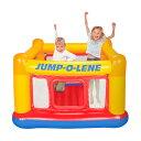 エアー トランポリン 角型 幅174cm×174cm×高さ112cm 耐荷重54kg 2人用 屋内 屋外 子供 キッズ 遊具 運動 遊び 学び …