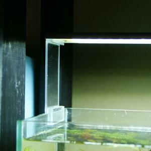 20cm延長 アクリル ライトリフトスタンド ライトスタンド アクアテラリウム アクリアウム 水槽 LEDライト