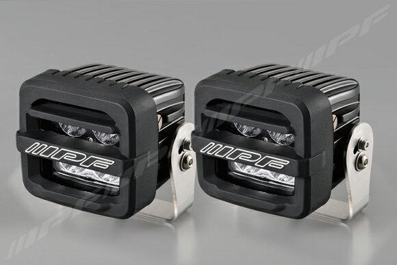 IPF 600 series 2inch CUBE ドライビングフォグランプ 【S-632】600 シリーズ 2 インチ ドライビングランプ(2個入り)