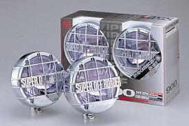 IPF オフロードランプ SUPER OFF ROADER 900 H4(リモートコントロールLow/Hi切替)【S-9M74】メッキボディー・ホワイトマックスレンズセット   アイピーエフ スーパーオフローダー 900シリーズ S9M74 配光切替 WHITE 白色 明るい ワイルド アウトドア おすすめ