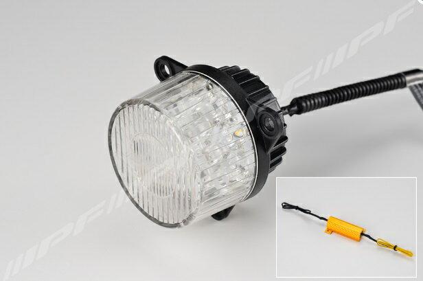 IPF CUSTOM MATERIAL LED丸形リヤ専用ウインカーユニット LED 12v 22w(2.3w 1個入り) 【TL-02WUR】