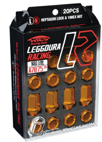 KYO-EI 協永産業 Kics キックス レデューラ レーシング ロック&ナット (M12xP1.25)20PCS(ナット16個/ロック4個) 5穴車用 カラー選択:8種類