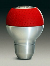 MOMO (モモ) シフトノブ レース エアーレザー アルミニウム RED (SK26)