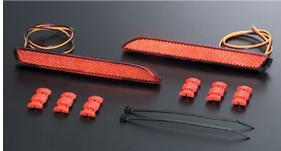 valenti ヴァレンティ ジャパン LED リヤバンパー リフレクター TOYOTA用 タイプ2 一年保証・車検対応