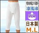 快適工房 涼風綿 半ズボン下 前開き Mサイズ Lサイズ グンゼ GUNZE 日本製 ステテコ すててこ   ズボン下 メンズ モテ下着 夏用インナー 涼しい ...