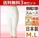 送料無料3枚セット 快適工房 ケアトリスムース 7分パンティ Mサイズ Lサイズ 日本製 こだわりコットン グンゼ GUNZE パンツ 通販 防寒 グンゼ GUNZE | レディース レディス 婦人