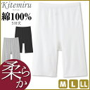 Kitemiru キテミル 柔らか綿 5分丈ボトム Mサイズ Lサイズ LLサイズ グンゼ GUNZE 綿100%   下着 肌着 インナー 女性 …