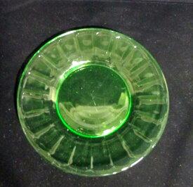 【アンティーク ウランガラス】 ランチプレート