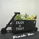 Cart Planter 木製プランター ガーデニング雑貨 車型プランター
