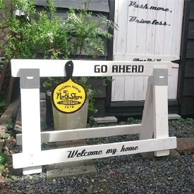 Wooden Barricade Fence 横断防止 進入防止 バリケード エクステリア ガーデンファニチャー フェンス 看板 おしゃれ 売れ筋