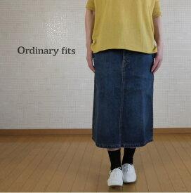 ordinary fits(オーディナリーフィッツ)ユーズドデニム チューブスカート TUBE SKIRT OF-K005