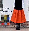 【送料・代引き手数料無料!】TIGRE BROCANTE(ティグルブロカンテ) ジンバブエ ポケットフィセルスカート SK-43-F8