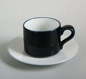 丹麦混合与匹配鲜蓝色和白色咖啡杯杯 & 飞碟北欧简单豪华耐用容易使用蓝色小酒馆杯 & 碟咖啡杯子 & 碟咖啡