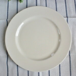 White dinner plates 27 cm natural beige heart warming dish & Motherskitchen | Rakuten Global Market: White dinner plates 27 cm ...