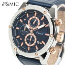 腕時計 GC001 【3ヵ月保証 ネイビー メンズ 男性 ファッション ブランド ビ...