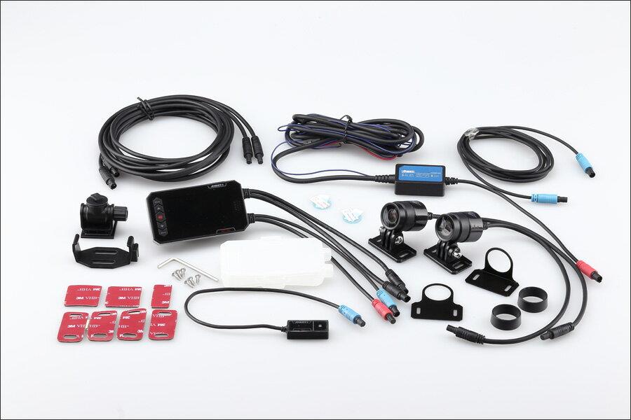 【あす楽対応】KIJIMA ドライブレコーダー デュアルカメラ AD720 (Z9-30-003)