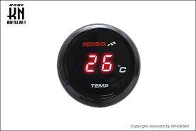 【あす楽対応】KN企画 KOSO i-Gearメーター(温度計)レッド表示 KS-MIG-TR