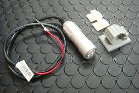 KN企画 車載用 USB電源ユニット(アルミボディ/シルバー) USB-02SV