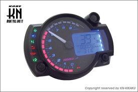 KN企画 KOSO RX2N+ LCDマルチメーター バックライト8色 (0-10000rpm) KS-RX2N-B81