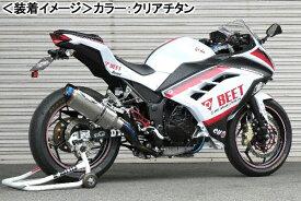 BEET NASSERT Evolution Type-II (クリアチタン)/Ninja250 0227-KC3-50
