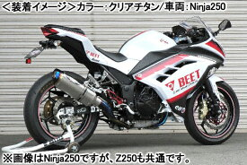 BEET NASSERT Evolution Type-II (クリアチタン)/Z250 0227-KC3-50