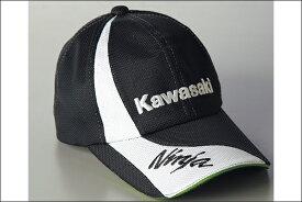 【あす楽対応】KAWASAKI カワサキ メッシュキャップX(ブラック) J8903-0151-A